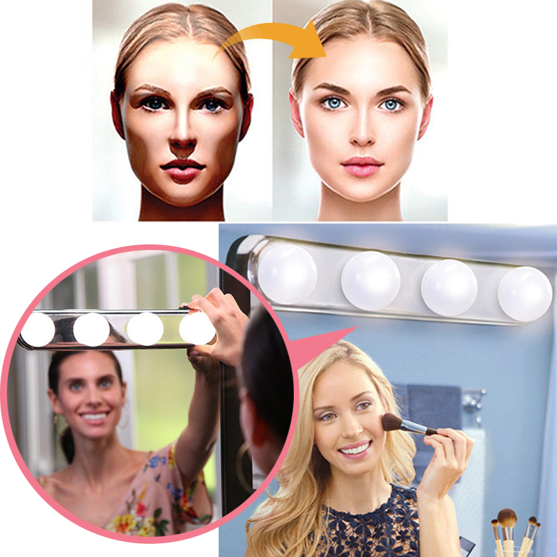 Cordless Studio Glow Make Up Lighting Shopdaynnights