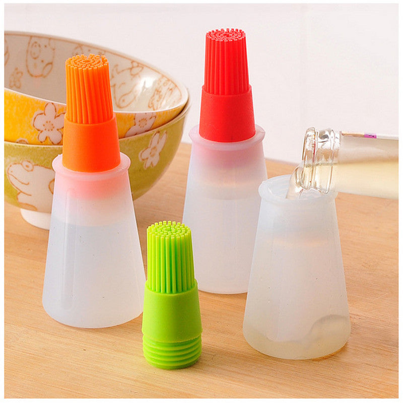 Silicone Oil Brush Bottle