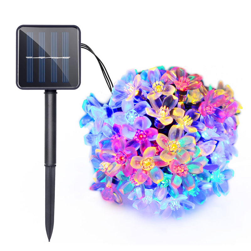 Solar Power Flower Fairy Light