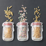 Jar Zipper Bags (Set of 3)
