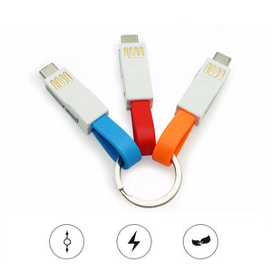 Mini 3-In-1 USB Cable