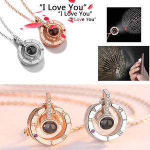 Love Projection (I Love You in 100 Languages) Necklace