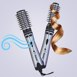 2-In-1 Hair Curler & Dryer Brush
