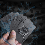 Premium Black Diamond Playing card
