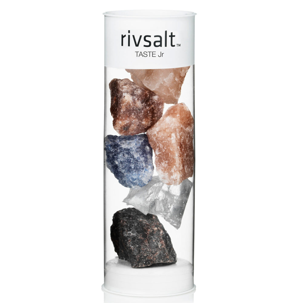 RIVSALT TASTE JR. - 6 PIECES ROCK SALT VARIETIES