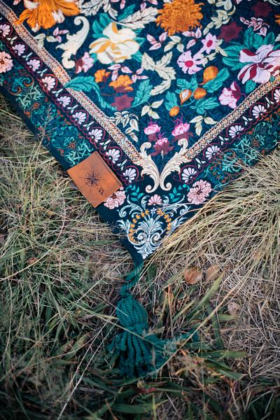 Picnic Rug - Emerald Forest