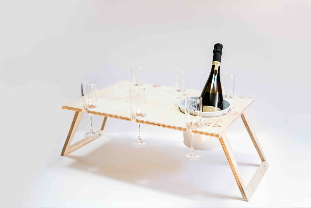 Picnic Table - 6 glass