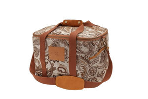 Load image into Gallery viewer, Cooler Bag - Hazel Paisley