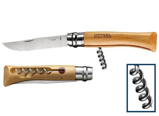 Opinel Corkscrew Knife No 10