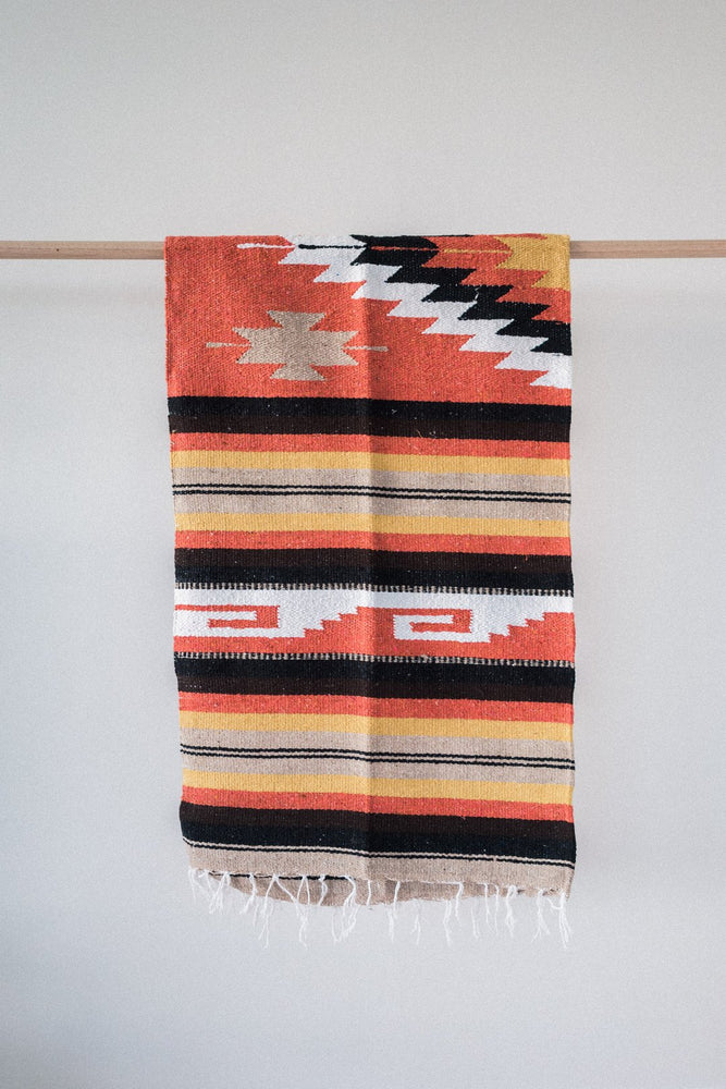 Load image into Gallery viewer, Sol Mitla - Handwoven Mexican Blanket
