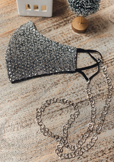 Circle Link Mask Chain (Silver)