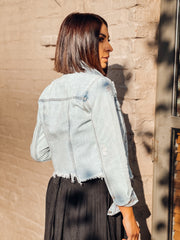 Tara Denim Jacket (Light Wash)