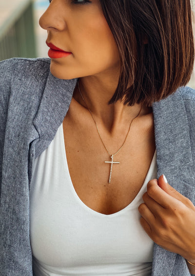 Incanto Maxi Cross Necklace