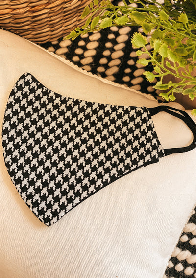 Adult Face Mask (Houndstooth)