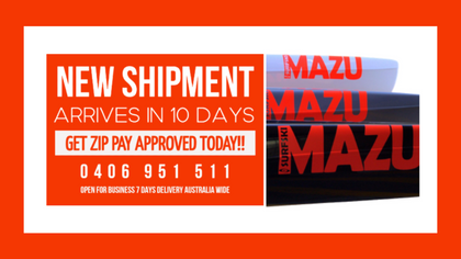 NEW MAZU SHIPMENT ARRIVES IN 10 DAYS GET ZIP PAY APPROVED TODAY
