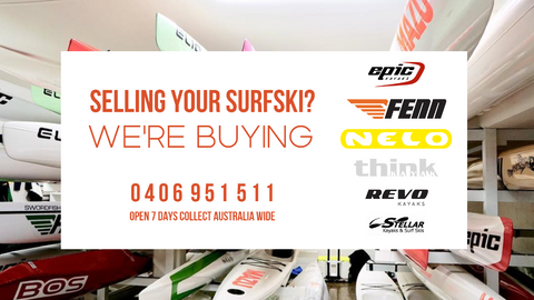 Selling Your Surfski?       We're Buying Now!!