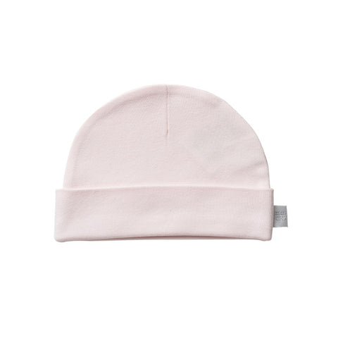 Organic Cotton Hat - Shell Pink
