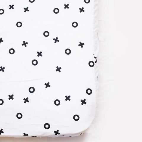 Organic Cotton Fitted Cot Sheet - XO
