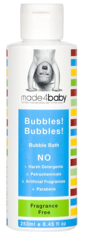 Bubbles! Bubbles! Bubble Bath Fragrance Free 250ml