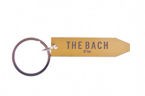 Give Me a Sign Key Ring - The Bach