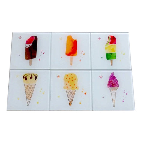 Ice Cream Coasters