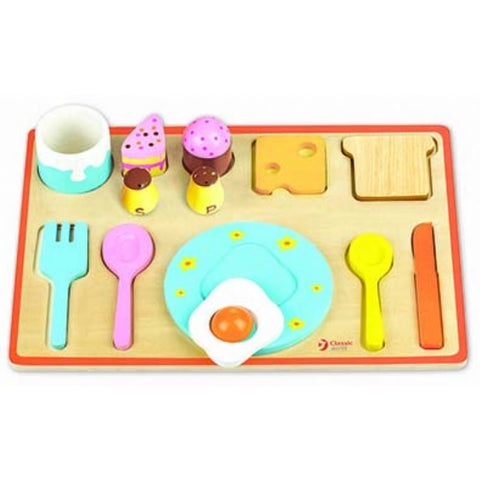 Breakfast Tray Puzzle