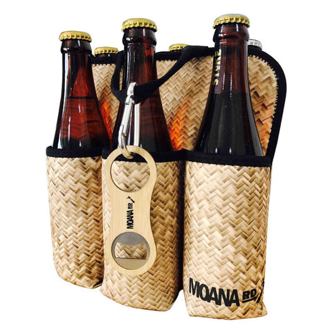 Six Pack Beer Holder - Harakeke