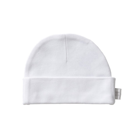 Organic Cotton Hat - White