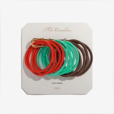 Variety Hair Bands - Red