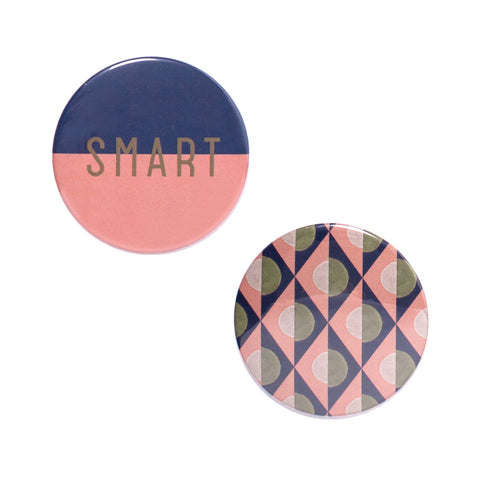 Button Mirror Set - Smart