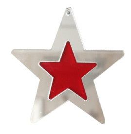 Two Tone Star Ornament
