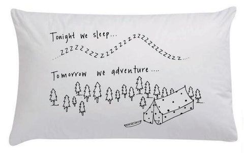 Organic Pillowcase - Tonight We Sleep