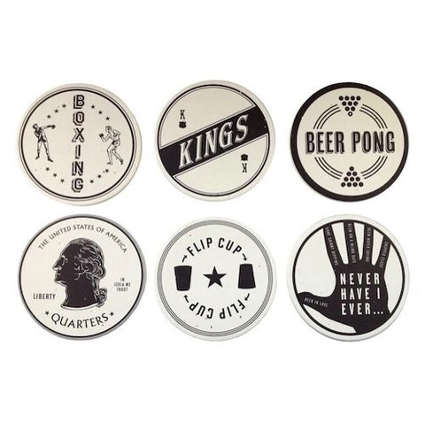 Coaster Set - Drinking Games
