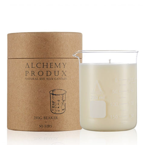 Candle 210gm Beaker - Ginger Ale