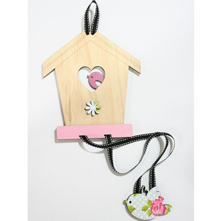 Hair Clip Tidy - Bird House
