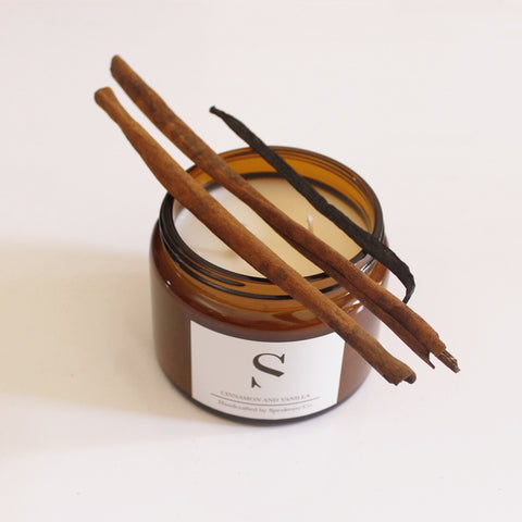 Candle 500ml - Cinnamon & Vanilla