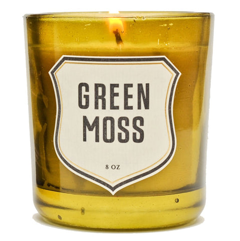 Candle - Green Moss