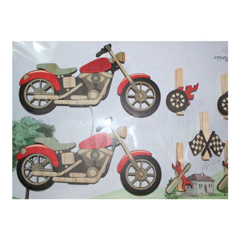 Art Pegs - Motor Bike