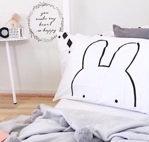 Sneaky Bunny Pillowcase