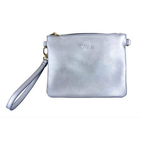 The Viaduct Clutch - Silver