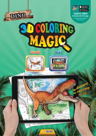 Evo Dino Colouring Book
