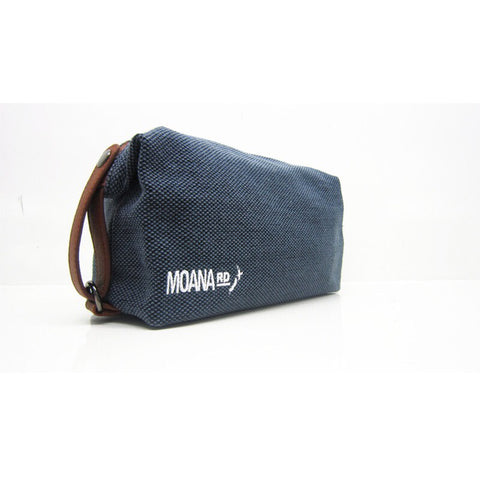 Canvas Toilet Bag - Blue