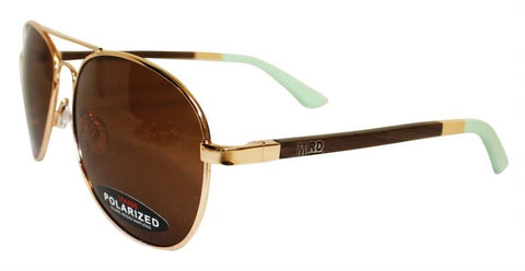 Wooden Sunglasses - Aviator Mint Ice Man