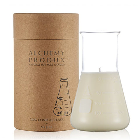 Candle 230gm Conical Flask - Coconut & Lime