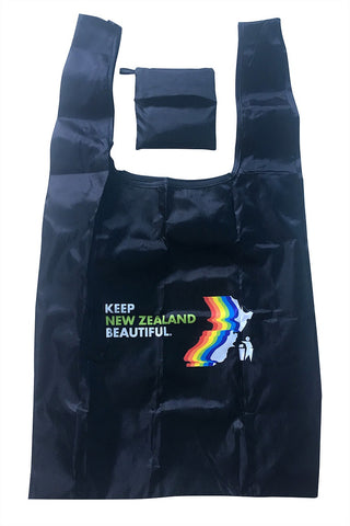 Foldable Shopper - Keep NZ Beautiful