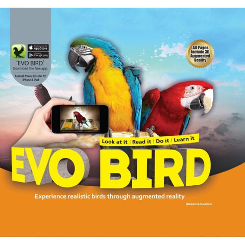 Evo Bird 3D Book
