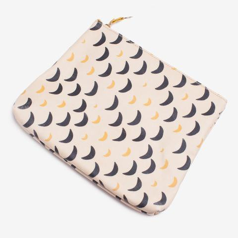 Large Gusset Pouch/Makeup Bag - La Nuit