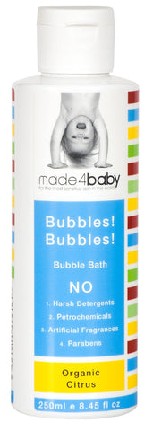 Bubbles! Bubbles! Bubble Bath Organic Citrus 250ml