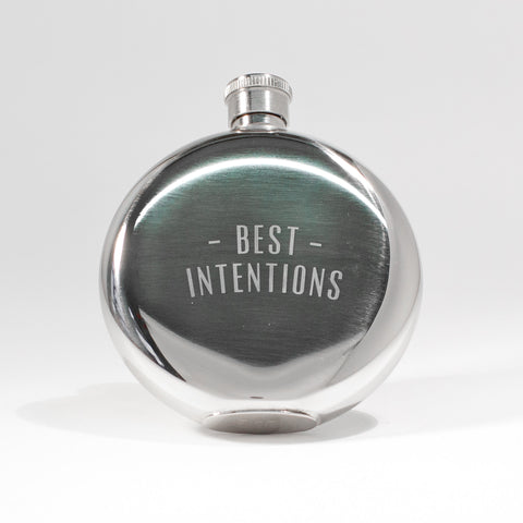 Best Intentions Flask 5oz