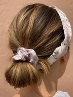 Silk Headband in Blush